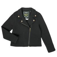 Clothing Girl Jackets / Cardigans Ikks XS17012-02-J Black