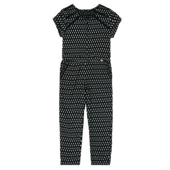 Clothing Girl Jumpsuits / Dungarees Ikks XS32012-02-C Black