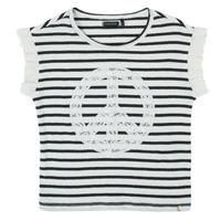 Clothing Girl Short-sleeved t-shirts Ikks XS10022-19-C Multicolour