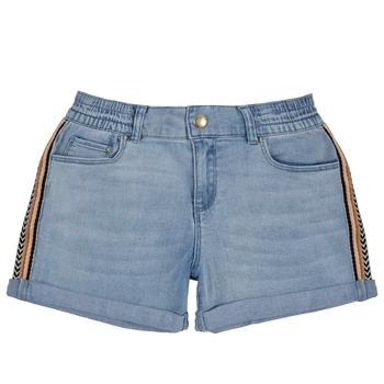 Clothing Girl Shorts / Bermudas Ikks XS26002-84-C Blue