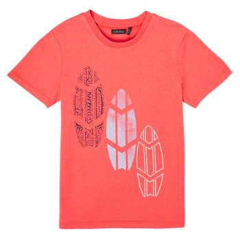 Clothing Boy Short-sleeved t-shirts Ikks XS10043-79-C Red