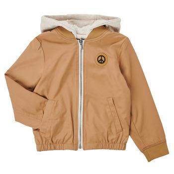 Clothing Boy Jackets Ikks XS41063-64-C Beige