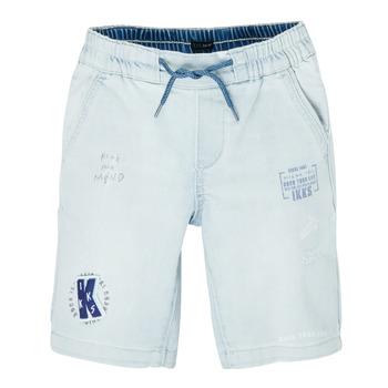 Clothing Boy Shorts / Bermudas Ikks XS25223-82-C Blue