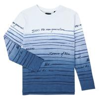 Clothing Boy Long sleeved tee-shirts Ikks XS10003-19-C Multicolour