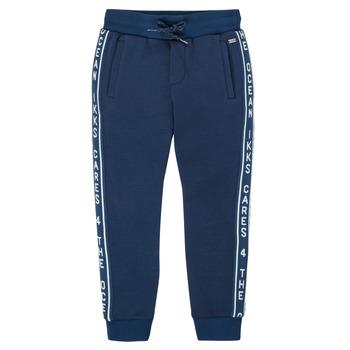 Clothing Boy Tracksuit bottoms Ikks XS23003-48-C Marine