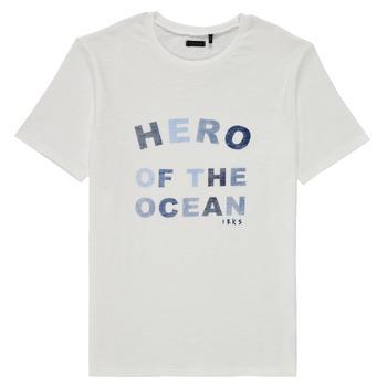 Clothing Boy Short-sleeved t-shirts Ikks XS10343-19-C White
