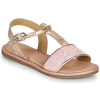 Shoes Girl Sandals Mod'8 PAILLETTA Pink