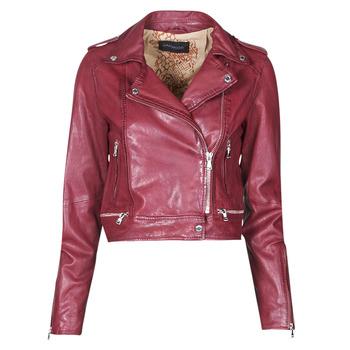 Clothing Women Leather jackets / Imitation leather Oakwood KYOTO Bordeaux