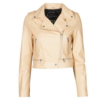 Clothing Women Leather jackets / Imitation leather Oakwood YOKO Cream