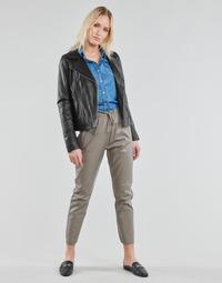 Clothing Women 5-pocket trousers Oakwood GIFT Grey