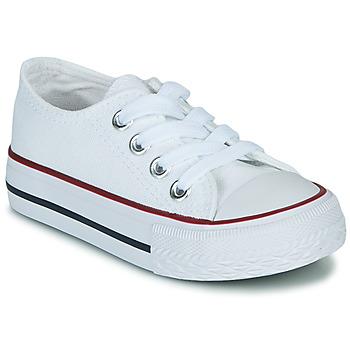 Shoes Children Low top trainers Citrouille et Compagnie OTAL White