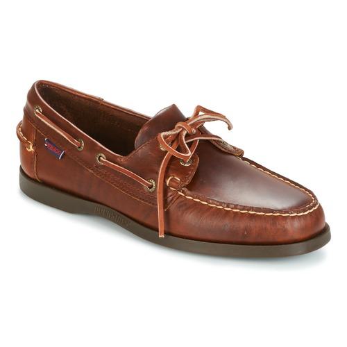 Shoes Men Boat shoes Sebago DOCKSIDES Brown