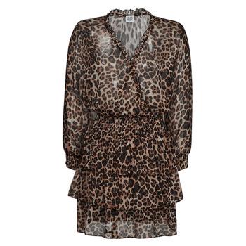 Clothing Women Short Dresses Liu Jo WA1530-T5059-T9680 Leopard