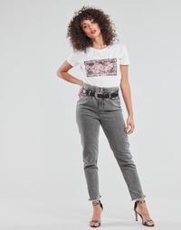 Clothing Women Straight jeans Liu Jo KENDY Grey