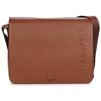 Bags Men Messenger bags Chabrand ELITE SAC A RABAT Brown