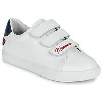 Shoes Women Low top trainers Bons baisers de Paname EDITH MADAME MONSIEUR White