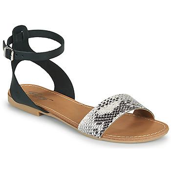 Shoes Women Sandals Betty London GIMY Black / Grey