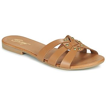 Shoes Women Mules Betty London OISO Camel