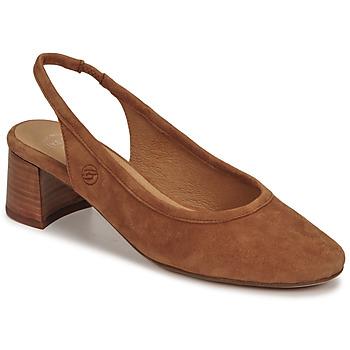Shoes Women Heels Betty London OMMINE Cognac