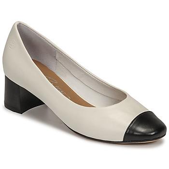 Shoes Women Heels Betty London OMINA White / Black