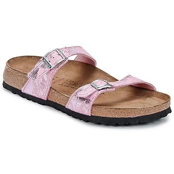 Shoes Women Mules Birki's TAHITI Pink