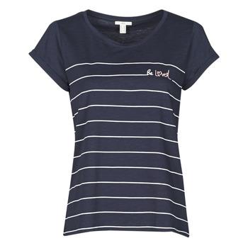 Clothing Women Short-sleeved t-shirts Esprit T-SHIRTS Blue