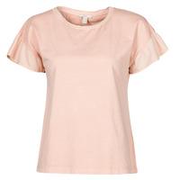 Clothing Women Short-sleeved t-shirts Esprit T-SHIRTS Pink