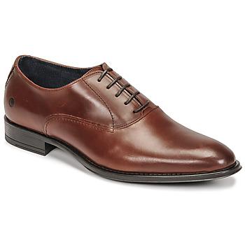 Shoes Men Brogues Carlington OLILO Cognac