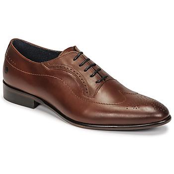 Shoes Men Brogues Carlington OULIO Cognac