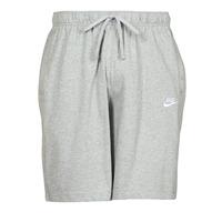 Clothing Men Shorts / Bermudas Nike NSCLUB JGGR JSY Grey / White