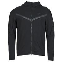 Clothing Men Track tops Nike NSTCH FLC HOODIE FZ WR Black