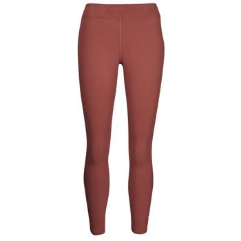 Clothing Women Leggings Nike NSESSNTL 7/8 MR LGGNG Brown / White