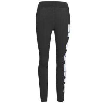 Clothing Women Leggings Nike NSESSNTL GX HR LGGNG JDI Black / White