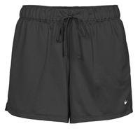 Clothing Women Shorts / Bermudas Nike DF ATTACK SHRT Black / White