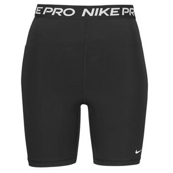 Clothing Women Shorts / Bermudas Nike NIKE PRO 365 SHORT 7IN HI RISE Black / White