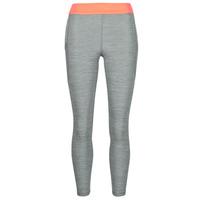 Clothing Women Leggings Nike NIKE PRO TIGHT 7/8 FEMME NVLTY PP2 Grey / Orange / White