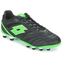 Shoes Men Football shoes Lotto STADIO P VI 300 FG Black / Green