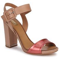 Shoes Women Sandals Eva Turner  Bronze / Red