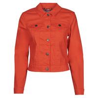 Clothing Women Denim jackets Noisy May NMDEBRA Red