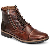Shoes Men Mid boots Rieker  Brown