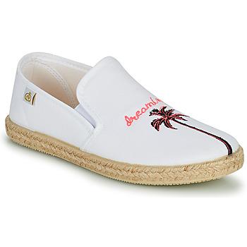 Shoes Girl Flat shoes Citrouille et Compagnie OWAT White