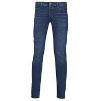 Clothing Men Slim jeans Jack & Jones JJIGLENN Blue / Dark