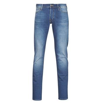 Clothing Men Slim jeans Jack & Jones JJIGLENN Blue / Medium