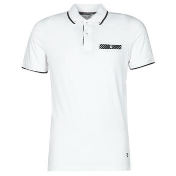 Clothing Men Short-sleeved polo shirts Jack & Jones JPRBLABOLTON White
