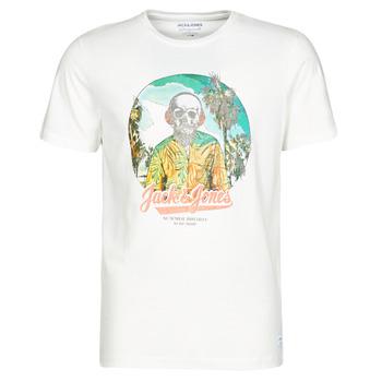 Clothing Men Short-sleeved t-shirts Jack & Jones JORDAAYS White