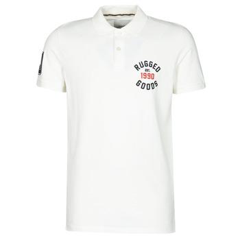 Clothing Men Short-sleeved polo shirts Jack & Jones JJAPPLICA White