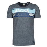 Clothing Men Short-sleeved t-shirts Jack & Jones JCONICCO Marine