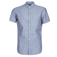 Clothing Men Short-sleeved shirts Jack & Jones JPRBLASUMMER Blue