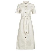 Clothing Women Long Dresses Betty London ODRESS Ecru