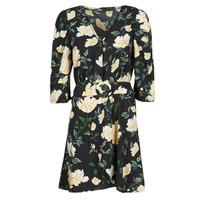 Clothing Women Short Dresses Only ONLEVE 3/4 SLEEVE SHORT DRESS WVN Black